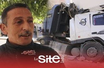 """فاس.. شاحنة """"مجنونة"""" تصطدم بقوة بإحدى الإقامات وشهود يكشفون التفاصيل -فيديو"""