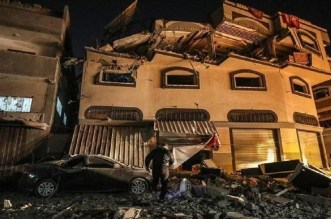 الغارات الإسرائيلية في غزة تتسبب في مصرع 21 شخصا وإصابة 69 بجروح