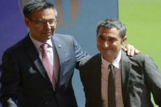 رئيس برشلونة يؤكد إمكانية رحيل فالفيردي