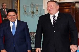 بوريطة يستقبل وزير الخارجية الأمريكي