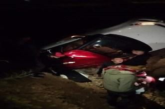 حادث سير يخلف إصابات في صفوف مشجعي فريق كروي