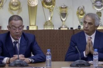 لقجع وحليلوزيتش حاضران في قرعة كأس العالم