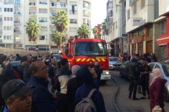 """الإزدحام يؤخر وصول سيارات الإسعاف إلى حريق بـ""""كازا"""" تسبب في اختناق 5 أشخاص"""