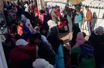 قافلة طبية لسكان جماعة حد بو موسى بالفقيه بن صالح