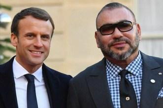 مباحثات هاتفية بين الملك والرئيس الفرنسي