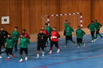 المنتخب المغربي داخل القاعة ينتصر بثلاثية على نظيره الليبي