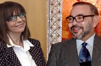 """الملك يهنئ """"ساكيلاروبولو"""" بمناسبة انتخابها رئيسة لجمهورية اليونان"""