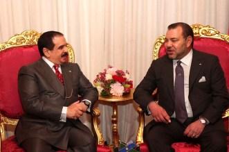 العاهل المغربي يجري لقاء وديا مع نظيره البحريني بالرباط