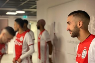 زياش يتعرض للإصابة ويغادر مباراة أياكس أمام سبارتا روتردام