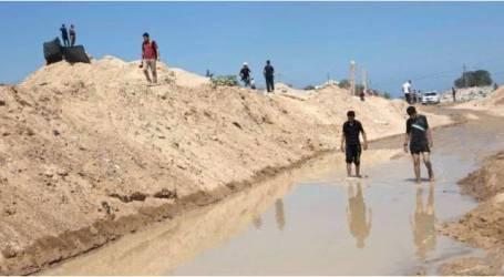 """دعوى أمام """"الجنائية الدولية"""" ضد مصر لإغراقها حدود غزة"""