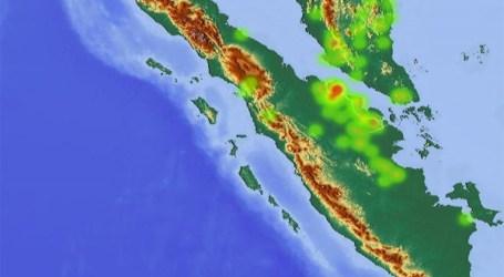 الأقمار الصناعية ناسا تكتشف 48 النقاط الساخنة في سومطرة