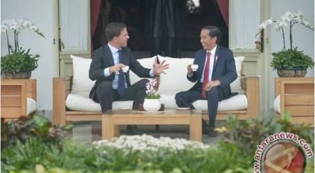 الرئيس جوكو ويدودو يستقبل رئيس الوزراء الهولندي