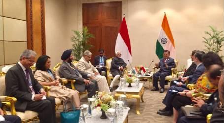 إندونيسيا ونائب الرئيس الهندي يناقشان الأمن الإلكتروني