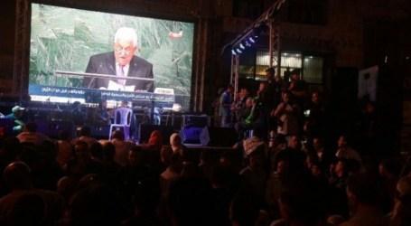 الفلسطينيون يترقبون خطاب الرئيس في الأمم المتحدة