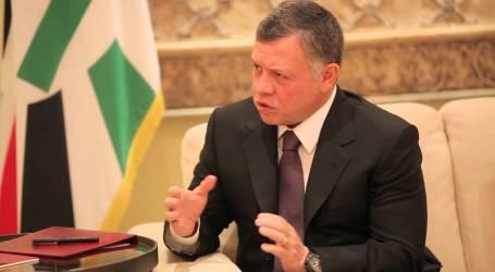 ملك الأردن: ندعم حل الدولتين والقدس عاصمة فلسطين