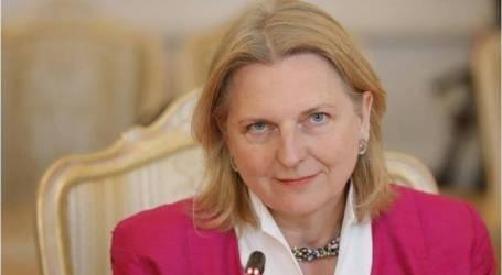 وزيرة خارجية النمسا تستهل كلمتها في الأمم المتحدة بـ  العربية