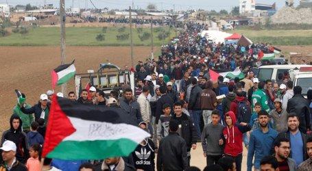 فصائل المقاومة الفلسطينية تدعو للمشاركة غدا الجمعة في مسيرة العودة وكسر الحصار