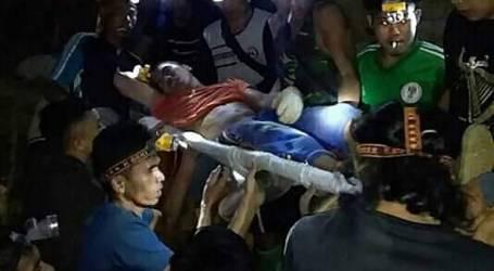 إنقاذ العشرات من عمال منجم غير مصرح به في بولاوانغ مونغوندوف  شمال سولاويزي