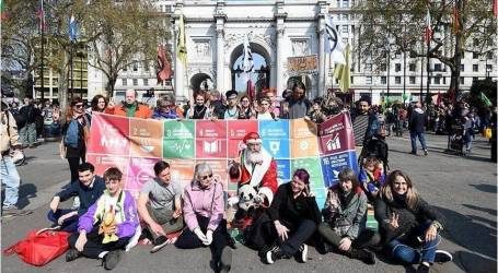 بريطانيا.. ارتفاع عدد معتقلي الدفاع عن البيئة إلى 750