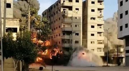 """الدقائق الأخيرة في قصف عمارة """"أبو قمر"""".. مواقف لا تُنسى"""