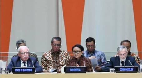 إندونيسيا تشيد بقرار مجلس الأمن لكونه يعارض زحف إسرائيل على فلسطين