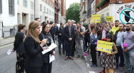 """لندن.. دعوات حقوقية للكشف عن انتهاكات بحق """"مرسي"""" بالسجون"""