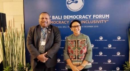 إندونيسيا و فيجي يناقشان الزراعة والتعاون البحري