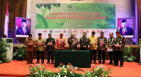 إعلان ثمانية بنود عن الأديان والشعوب الأصلية لغابات الاستوائية الإندونيسية