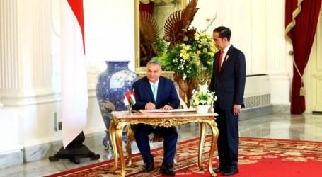 الرئيس جوكوي يستقبل رئيس الوزراء المجري