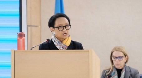 وزيرة الخارجية ريتنو مارسودي تعزز تمكين المرأة في جلسة الأمم المتحدة