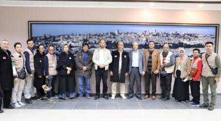 الوفد الإندونيسي يصل غزة عبر معبر رفح