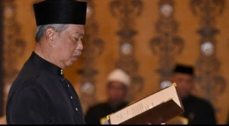 رئيس الوزراء الماليزي الجديد يؤدي اليمين الدستورية