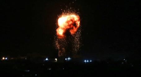 طائرات إسرائيلية تقصف أهدافا جنوبي غزة