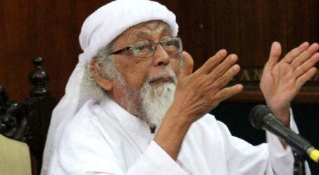 إندونيسيا ستطلق سراح الداعية أبو بكر باعشير الجمعة المقبلة