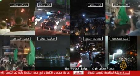 """حماس وإسرائيل توافقان على """"وقف إطلاق النار"""" بتوسط مصر بدءا من فجر الجمعة"""