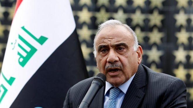 رئيس الوزراء عادل عبد المهدي مازال يفكر بتقديم استقالته إلى البرلمان
