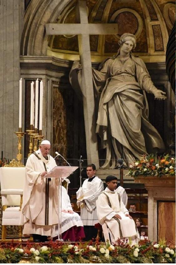 بعيد الميلاد :توجه البابا فرنسيس بالدعاء للعالم العربي