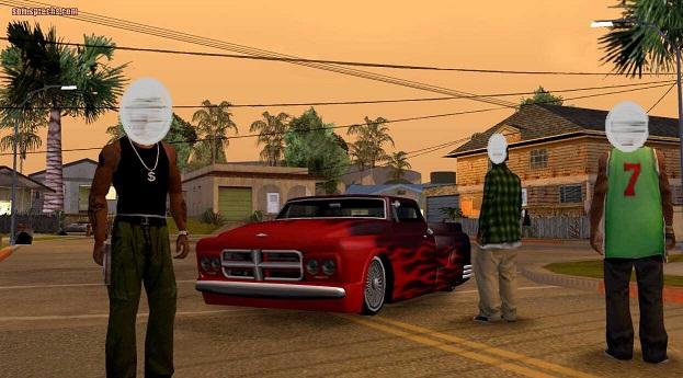 لعبة حرامي السيارات GTA مع كلمات السر