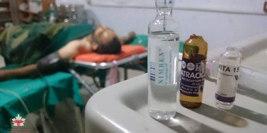 """نقص """"مواد التخدير"""" في مشفى داريا الوحيد ينذر بكارثة طبية"""