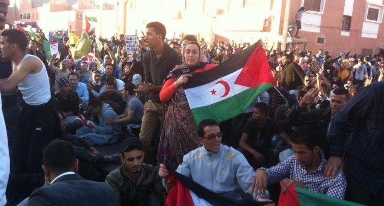 تظاهرات في الصحراء الغربية