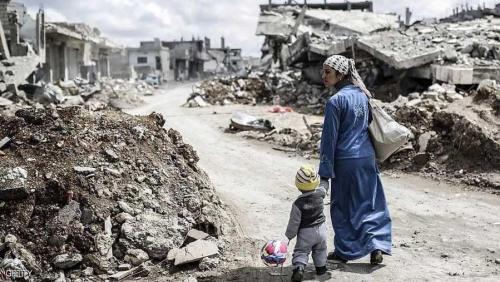 مشاهد من الحرب السورية