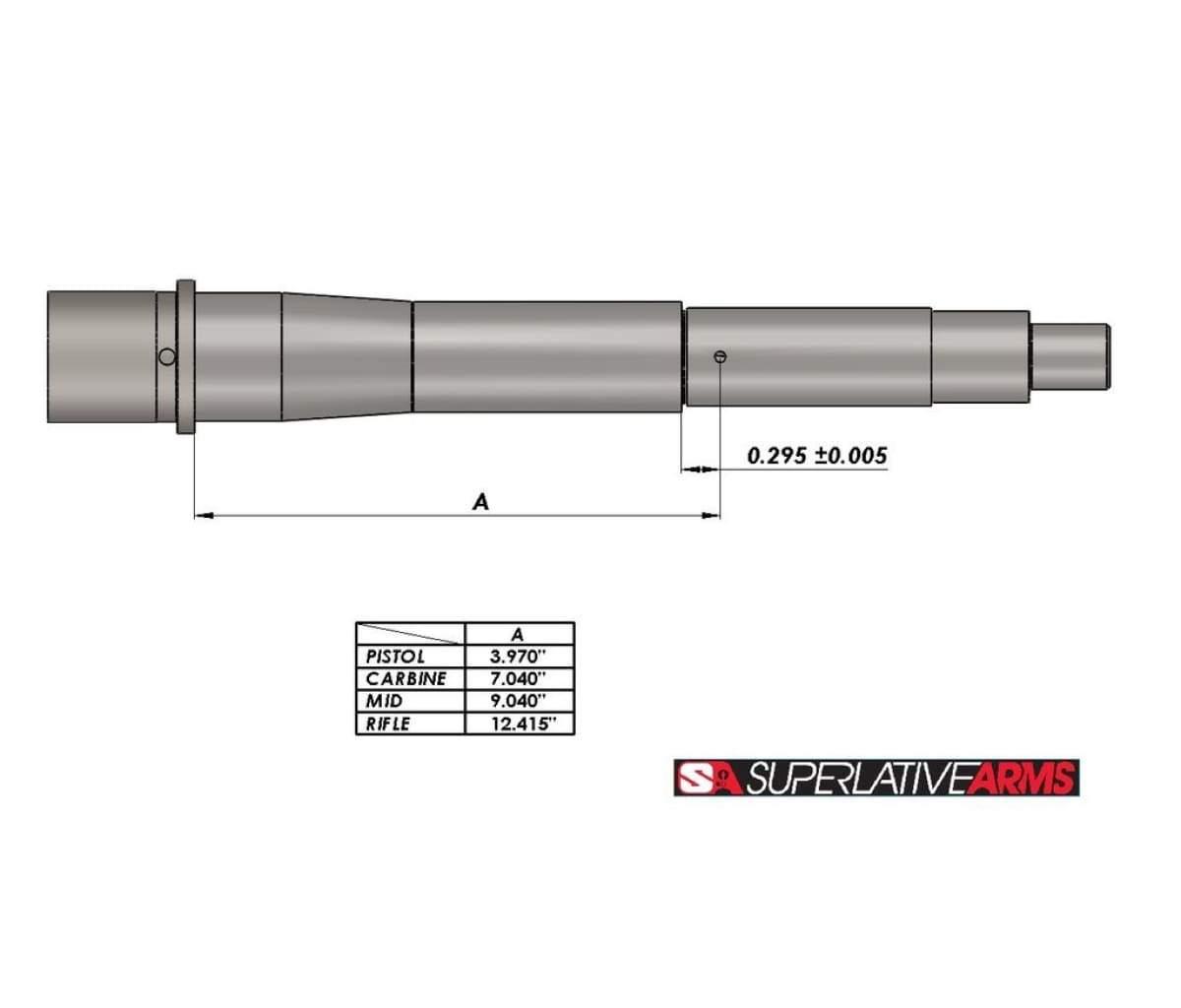 Superlative Arms 625 Adjustable Piston System