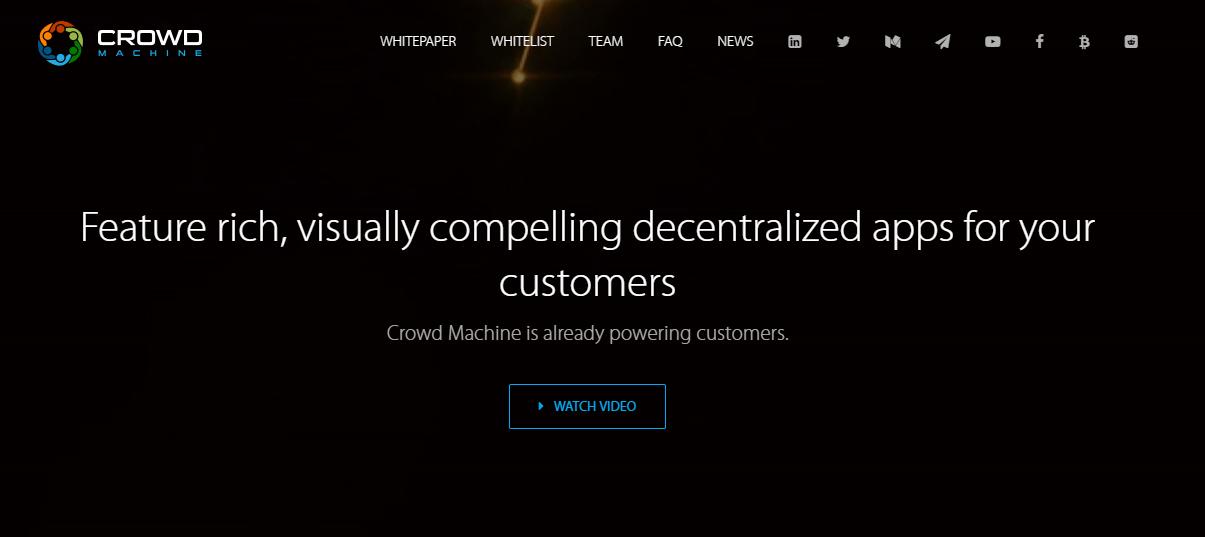 منصة crowdmachine