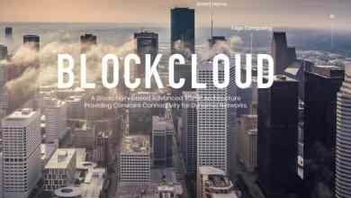 مشروع blockcloud