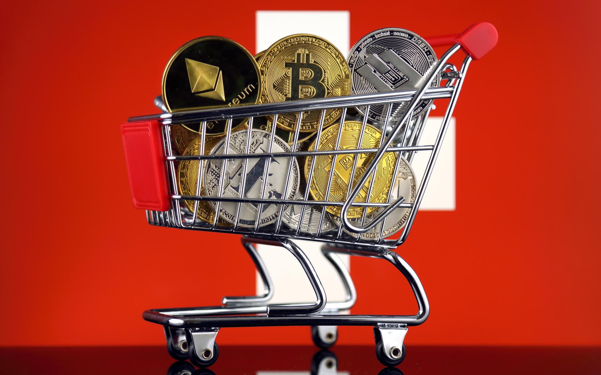 أكبر متجر إلكتروني في سويسرا يعلن عن قبول العملات الرقمية
