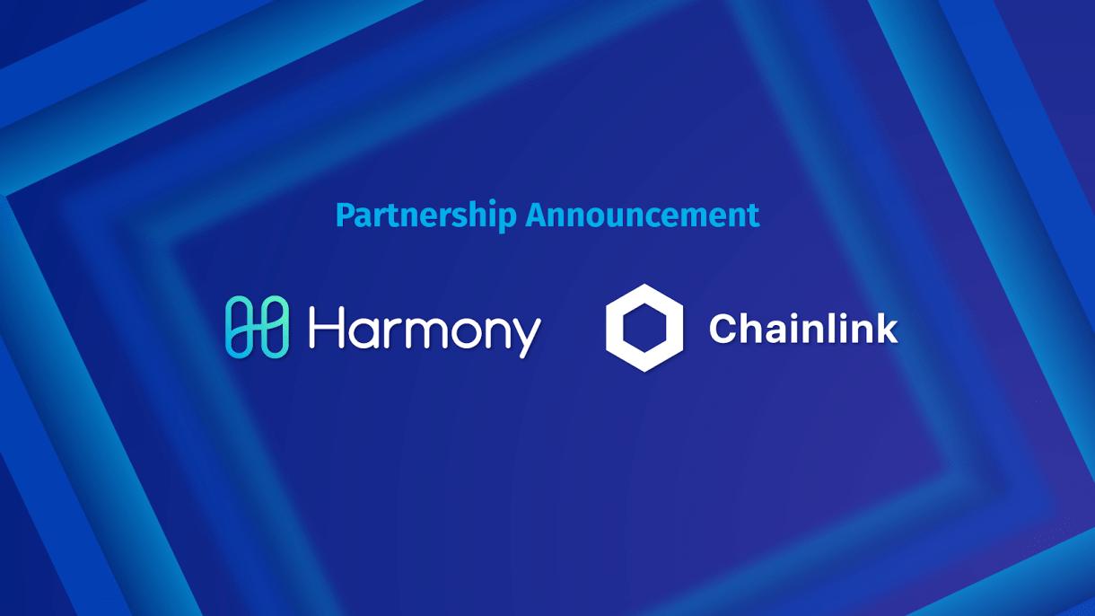 تعرف على تفاصيل شراكة مشروع Harmony و مشروع ChainLink