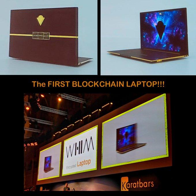 إطلاق أول حاسب محمول قائم على تكنولوجيا البلوكشين