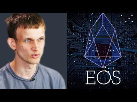 """""""فيتاليك بوتيرين"""" يقدم اقتراحات لتطوير شبكة EOS"""
