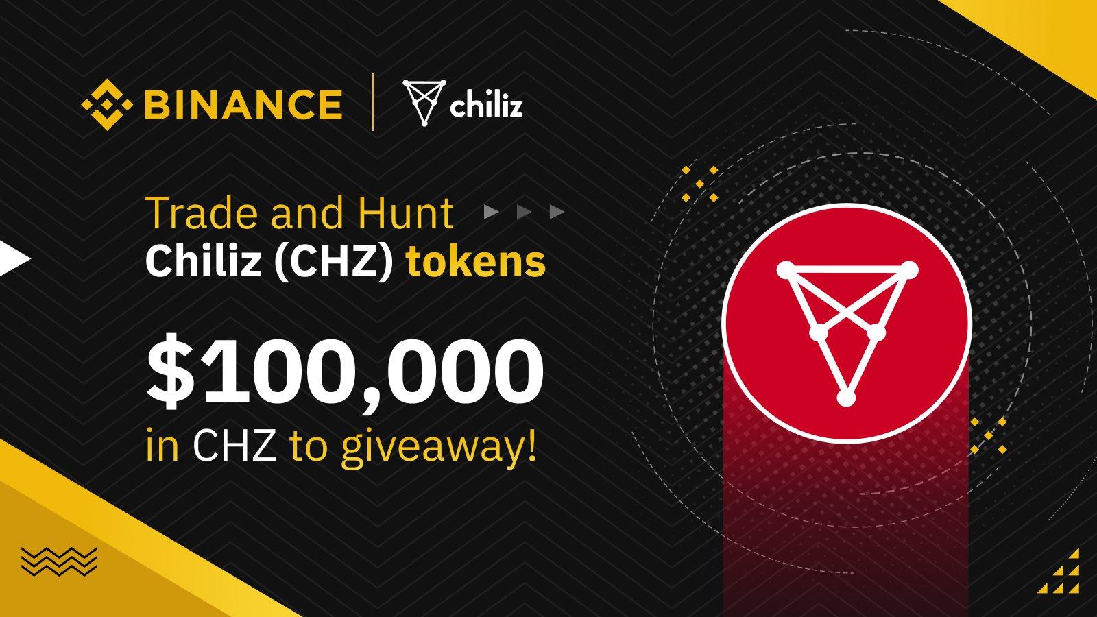 بمناسبة انضمام نادي برشلونة... منصة بينانس تقدم جوائز بـ 100,000 دولار من عملات CHZ الرقمية