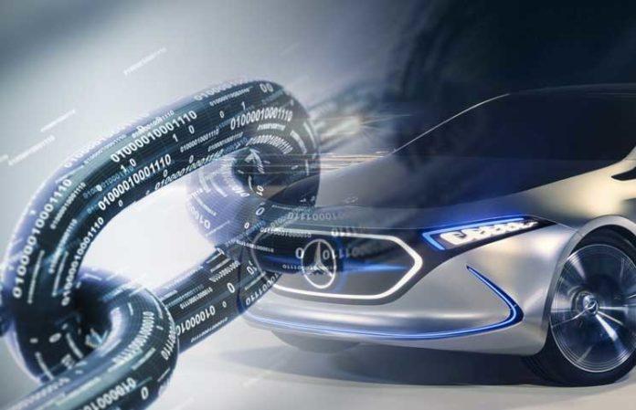 """شركة صناعة سيارات """"مرسيدس بنز"""" تستعمل تقنية البلوكشين في عدة منتجات مبتكرة"""
